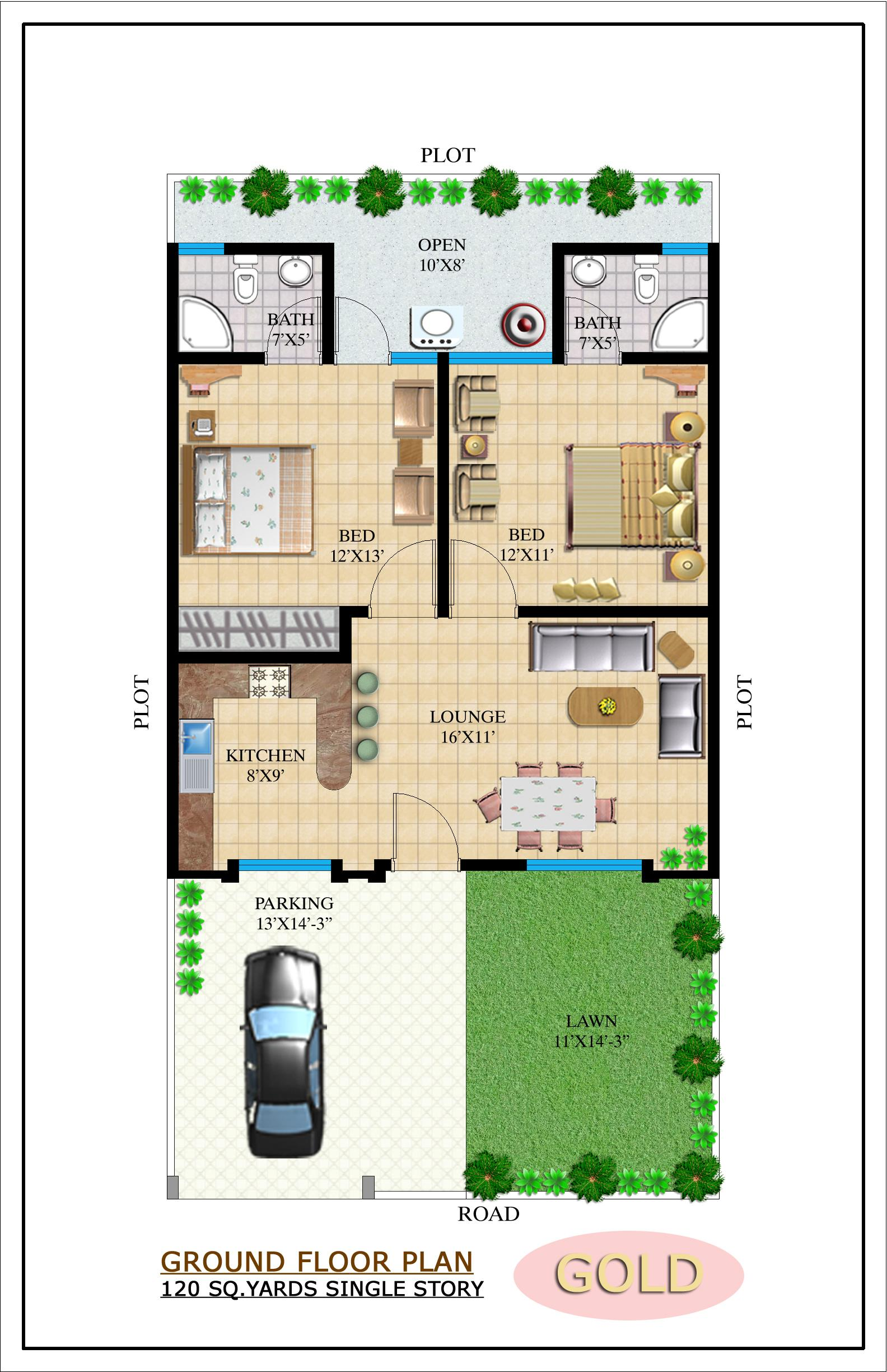 Pakistani small house plans home design and style for Pakistani home plans designs